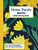 Mark Twain Quotes: Adult Coloring Book