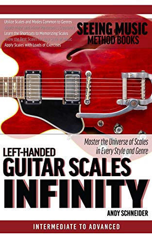 Left-Handed Guitar Scales Infinity: Master the Universe of Scales in Every Style and Genre (English Edition)