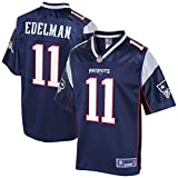 NFL PRO LINE Men's Julian Edelman Navy New England Patriots Logo Player Jersey