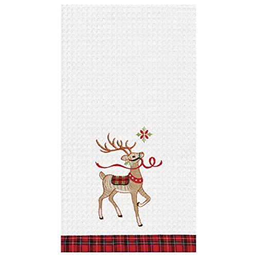 C&F Home 18x27 Christmas Kitchen Towel, Reindeer Wonderland