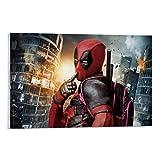 DRAGON VINES Deadpool divertidas mochilas venden lindo cartel e impresión cartel para decoración de pared de la universidad dormitorio 20 x 30 pulgadas (50 x 75 cm)