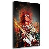 Jimi Hendrix New HD Printing 90er Gitarristen-Poster
