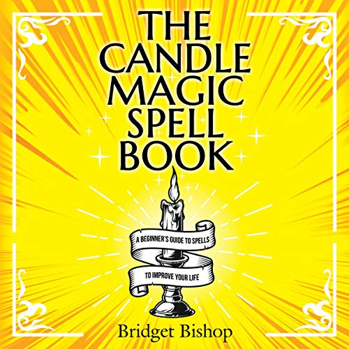 The Candle Magic Spell Book cover art