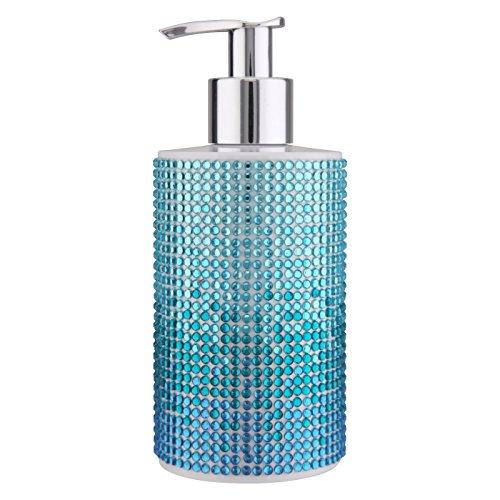VIVIAN GRAY 3810 Seifenspender mit Creme-Seife Diamonds Sundown, blau (250 ml)