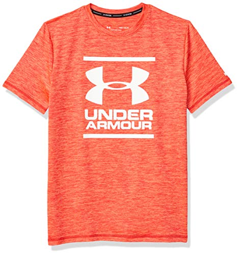 Under Armour Big Ua Heather - Camiseta de surf para niño - Rojo - Jovenetud - M