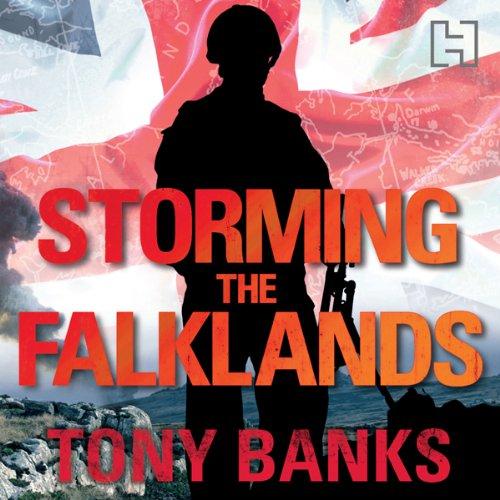 Storming the Falklands cover art