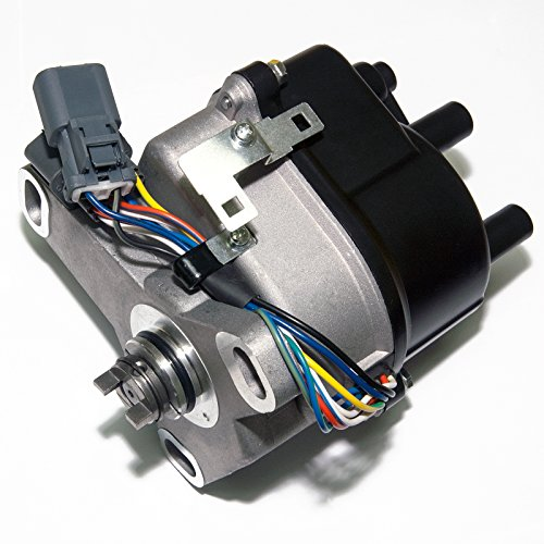 MAS Ignition Distributor w/Cap & Rotor TD-60U TD60U compatible with HONDA PRELUDE 2.2L JDM H22A DOHC VTEC OBD1