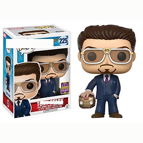 """SSN Pop Marvel Spider Man Iron Man Tony Stark 225""""; 226 Kombispielzeug-Modellspielzeug-Fans Weihnachtsgeschenk"""