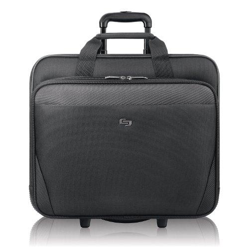 SOLO 43,94 cm Laptop con Ruedas, Color Negro, CLS910-4