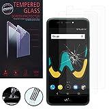 VComp-Shop® - 2 pellicole in vetro temperato di alta qualità per Wiko UPulse 4G 5.5', trasparente