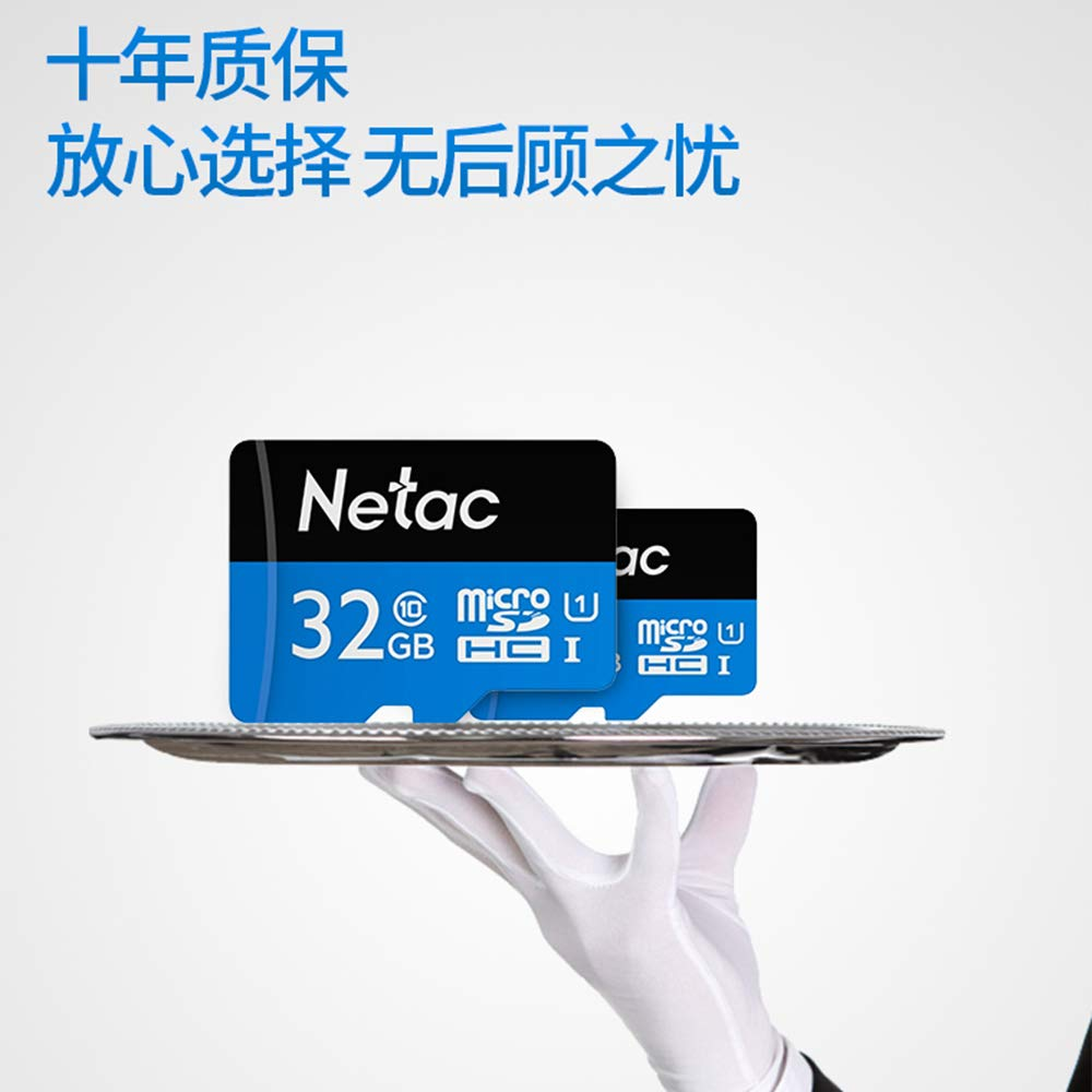 朗科(Netac)32g内存卡 Class10 高速 tf存储卡 tf卡 micro卡 mini卡用于 手机 数码相机 行车记录仪 摄像机 相机 等数码设备 (32GB)