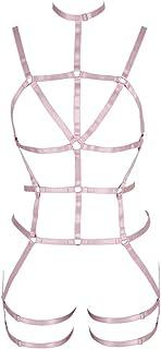 المرأة الجسم تسخير الملابس الداخلية كامل الخصر الرباط حزام الشرير القوطي كرنفال مرونة البرازيلي الملابس الملحقات