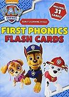PAW Patrol: First Phonics Flash Cards
