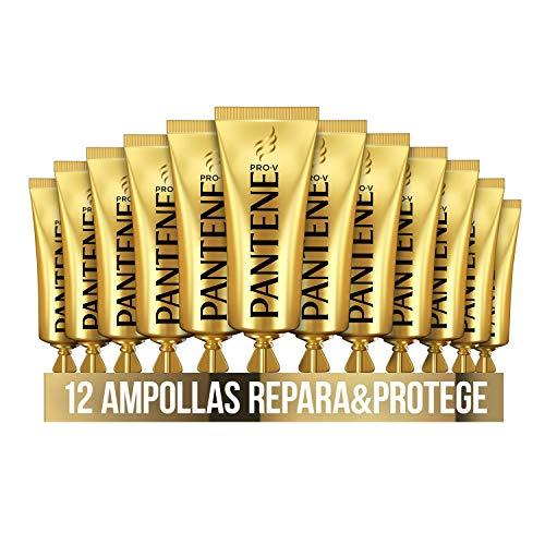 Pantene Pro-V Repara & Protege Tratamiento Intensivo En Ampollas Rescate Para Pelo Dañado 12 x 15 ml