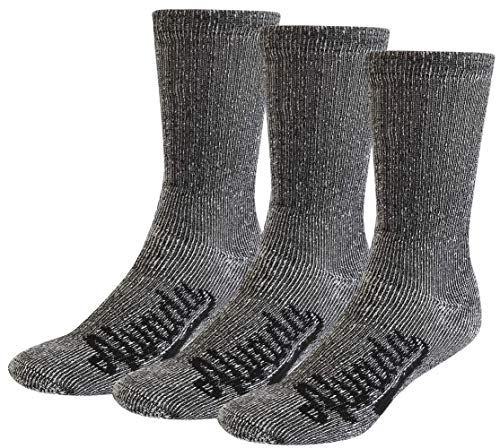 Alvada 80% Merino Wool Hiking Socks Thermal Warm Crew Winter Boot Sock for Men Women 3 Pairs ML