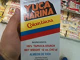 Yuca Harina Colombiana (Typical Colombian Yucca Bread, 1 Pack 12oz)