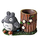 Adorable Totoro Pencil Case Super Cute Totoro Pencil Holder Pencil Bag Pencil Pouch Pencil Box with Nice Flowers and Mushrooms Very Good Totoro Gifts