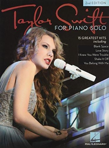 Taylor Swift - Piano Solo: Songbook für Klavier