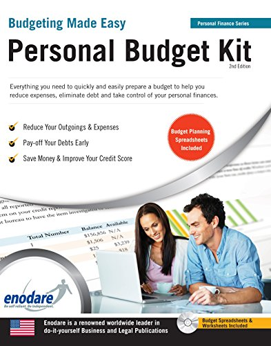 Personal Budget Kit: Including Financial Software (Budgeting Made Easy)