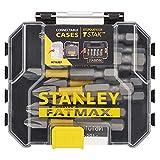 STANLEY STA88573-XJ Caja de Almacenamiento de 10 Puntas Sueltas de Impacto PH2 FATMAX, de 50mm