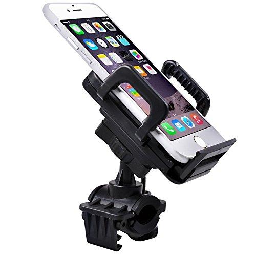 Maclean MC-656 mobiltelefon smartphone universal hållare 360° cykel styre cykelhållare cykelhållare mobilhållare