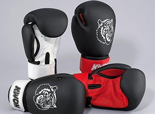 Kwon Tiger Kids Boxhandschuh 10oz schwarz/rot