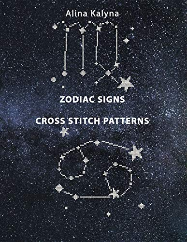 Cheapest Price! Zodiac Signs Cross Stitch Patterns