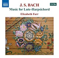 Music for Lute-Harpsichord by J.S. BACH (2008-07-29)