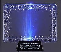 エンスカイ パズルフレーム アートクリスタルジグソー専用 ルミナスフレーム<アクア>(10x14.7cm)