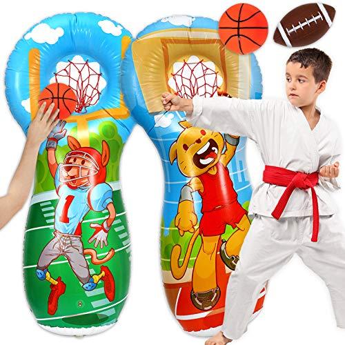 eurobuy inflatable punching bag 6299×1575