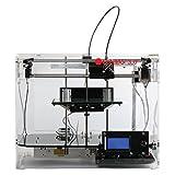 print-rite-europe LMD101XQ7J 3D Printer, CoLiDo 3.0, Clear 3D Drucker Printer Kossel Kit mit hoher Druckpräzision von 0.05mm