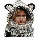 SevenPanda Enfants Baby Animal Fox Casquette Manteau Tricot Capuche Cagoule Hiver laine...