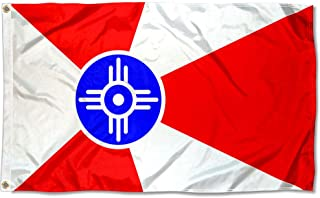 Sports Flags Pennants Company City of Wichita Flag 3x5 Foot Banner