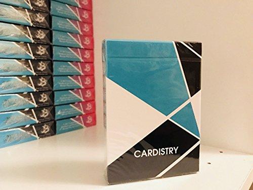 USPCC Cardistry Rare Limited Edition Custom Playing Cards - Turquoise Deck - Professional Cardistry Decks Mazzo di Poker Carte da Gioco - Giochi di Prestigio e Magia