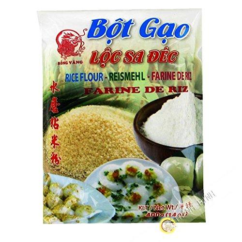 Die stärke von reis, gemahlener DRAGON GOLD 400g Vietnam - Pack 12 pcs