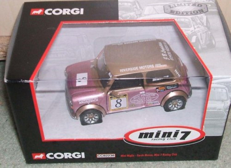 Corgi 7 Mini Racing Club Sarah mumns limitierter Auflage 1,36 Skala Druckguss-Modell B000NRX3OK Creative  | Qualitativ Hochwertiges Produkt