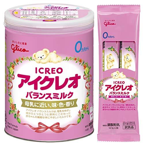 【Amazon.co.jp限定】アイクレオ バランスミルク800g (サンプル付)