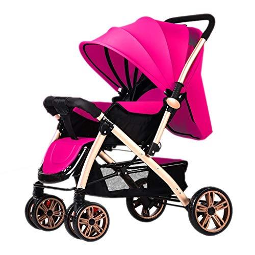 Poussettes Baby Pliante légère Landau 0/1-3 Ans Chariot Enfant Simple Portable