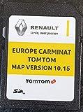 Carte SD GPS Europe 2019-10.15 - Renault Tomtom Carminat