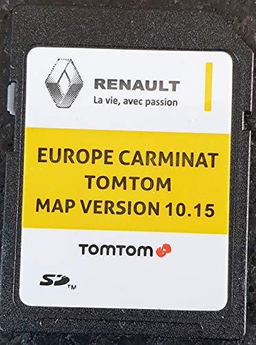 SD Karte GPS Europe 2019-10.15 - Renault Tomtom Carminat