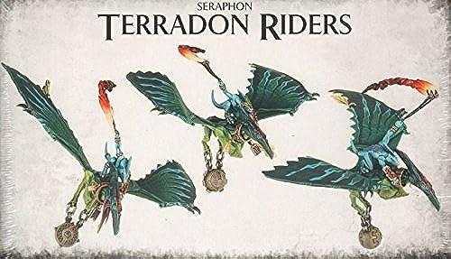 Jeux Atelier 99120208021Seraphon Terradon Riders de table et de jeux miniature