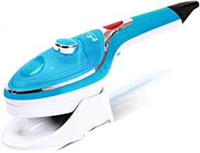 LLDQA Steam Iron Garment Steamer Clothes Steamer Handheld Flat and Hang Dry and Steamer Ironing Portable for Travel Dewrin...
