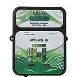 Titan Controls HGC702853 Classic Series Atlas 8-Digital CO2 Controller with Fuzzy Logic, 120 Volt, Black