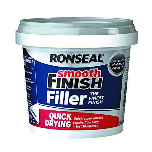 Ronseal 36553 - Stucco Riempitivo, Ad Asciugatura Rapida Per Riempimento, Pronto Da Usare, Colore: Bianco