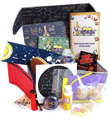 STEM Box Exploring Our Solar System- Science Kit for Kids