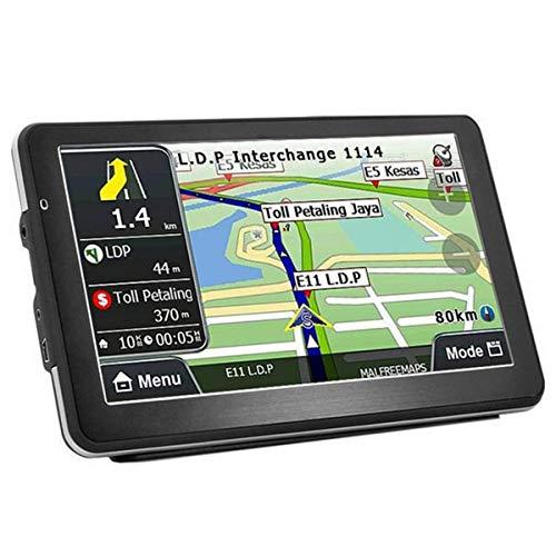LIUDOU GPS Voiture 9 Pouces Auto Navigation 8 GB Navigateur Avec Écran Táctil Multi-Idiomas Guidage Vocale Pour Voiture, Camion, Cartes Mise À Jour Gratuite Una Vie