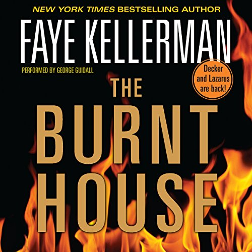 The Burnt House audiobook cover art