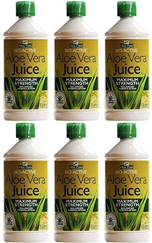 (6 PACK) - Aloe Pura - Aloe Vera Juice | 1000ml | 6 PACK BUNDLE