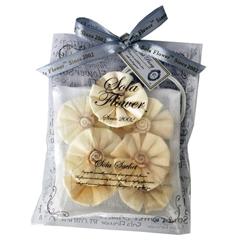 カバレッジ強打石炭new Sola Flower ソラフラワー サシェ Elegant Peony エレガントピオニー オーガンジーパッケージ Sachet