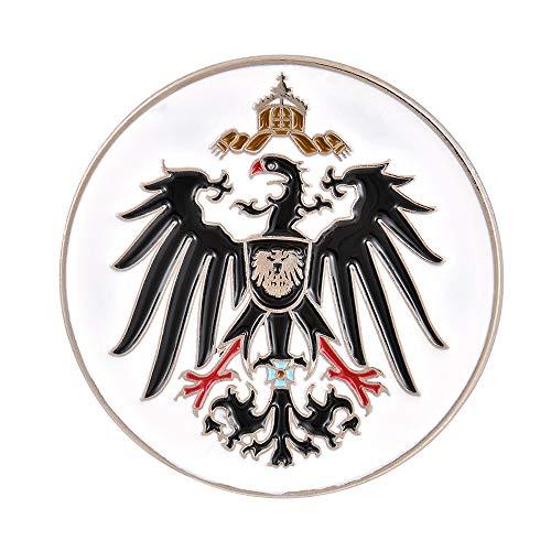 Gudeke Preussen Königreich Preußen Adler Emaille Pin Preussische Abzeichen